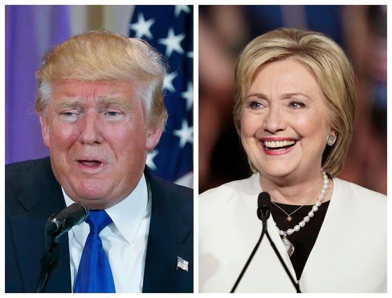 Foto: Com liderança consolidada em seus partidos, Trump e Hillary se atacam. http://glo.bo/1QLBBoK #JornalOGlobohttps://plus.google.com/photos/photo/113270828675757563720/6257501684307303154