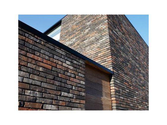 Briques cube maison moderne fa a - Facade maison moderne ...