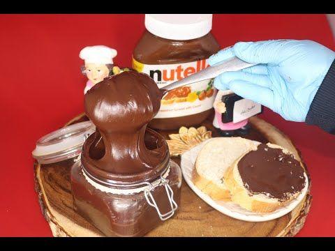 طريقة تحضير اروع شوكولا نوتيلا بدون زيت او زبدة بعشر دقائق مع رغاد Youtube Desserts Food Chocolate