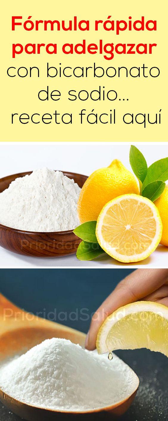 Como utilizar bicarbonato de sodio para bajar de peso