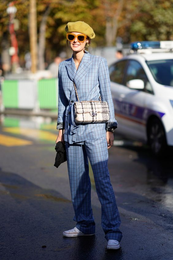 Stylecaster | 25 Checkered Fashions That Will Make You Mad For Plaid | Plaid Street Style |