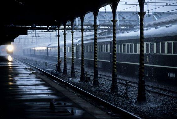Sudáfrica - Tren Rovos Rail - estación de Kimberley