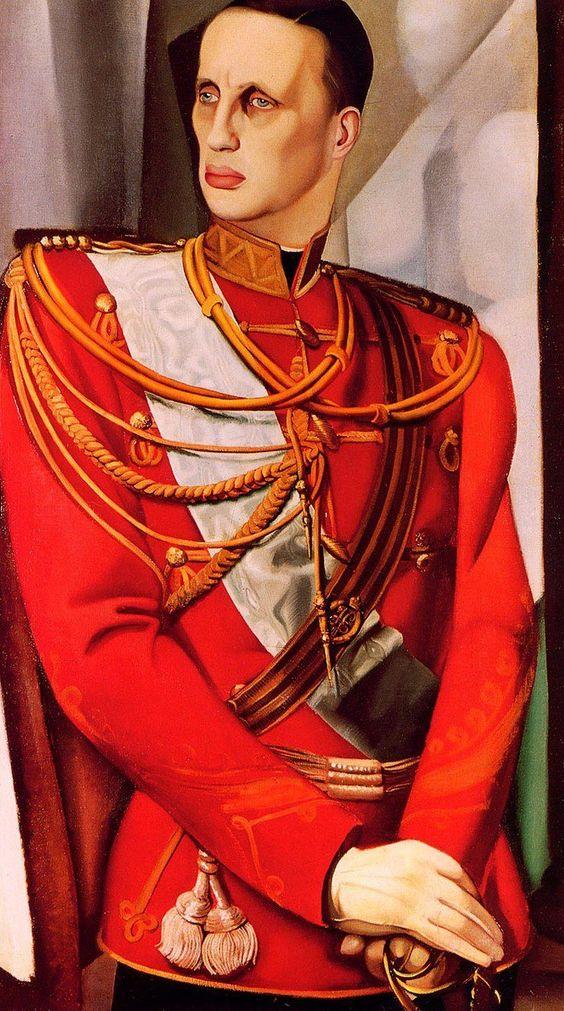 Prince Gabriel Constantinovich of Russia. Tamara de Lempicka. 1927 742×1331 пикс: