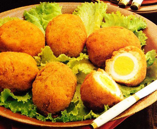Recetas: Huevos a la escocesa
