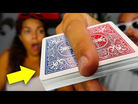 Transform Any Card In To A Blank Card Youtube Easy Magic