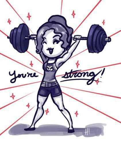 you are strong !!!