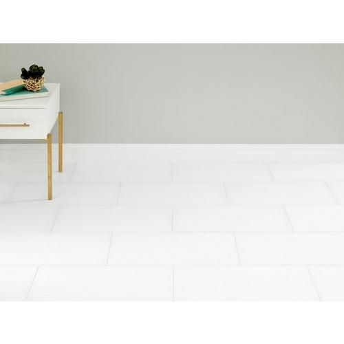 Futuro White 12x24 1 29 Per Square Foot White Porcelain Tile Floor And Wall Tile White Porcelain
