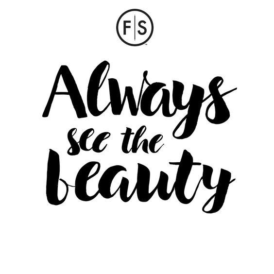 Always See the Beauty #WednesdayWisdom #NewYear #NewHair #FantasticSams