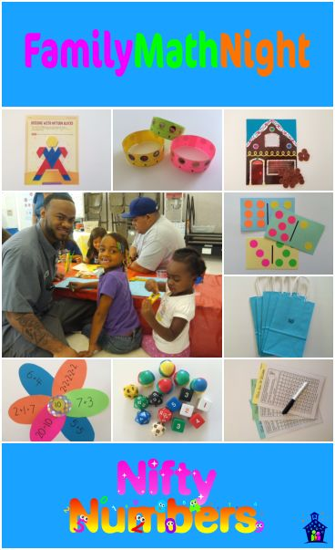 Nifty numbers family math night fun hands on activities for Nifty family