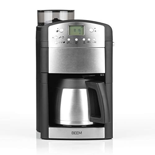 Beem 02049 Fresh Aroma Perfect Thermolux Verbesserte Version 2019 Kaffeemaschine Mit Mahlwerk 92 C Filterkaffeemaschine Kaffeemaschine Kaffeevollautomat