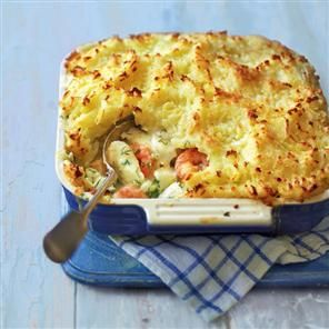 Fish pie recipe. How did we make our version of the winter classic so astonishingly low in fat, yet so wonderfully creamy? Don't worry about the details – just enjoy the genius.