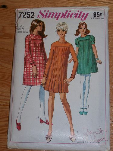 Simplicity 7252 by Myra at BusyHandsQuilts, via Flickr