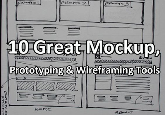 Hopefully this list of mockup tools can help you save the time when you are working on your next projects.