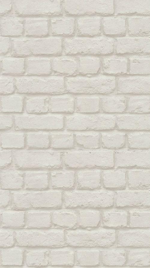Brick Wall Effect Wallpaper White 587210 Fotografii Fonov Oboi Pastelnye Fotografii