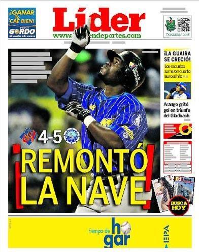 ¡REMONTÓ LA NAVE! | #Magallanes le dio la vuelta al marcador y venció a #Aragua | Y este domingo hay Caracas vs Magallanes | Es nuestra portada del 10 de noviembre