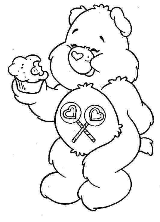 Kids Coloring Pages Care Bears In 2020 Bear Coloring Pages Coloring Pages Coloring Books