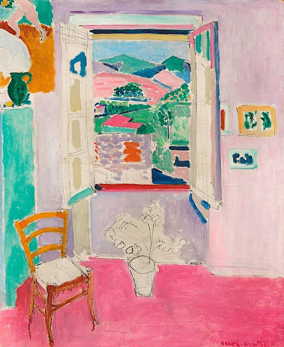 Henri Matisse - La Fenêtre Ouverte (The Open Window)- 1911.