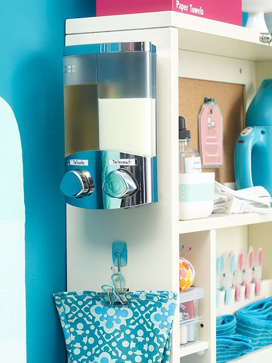 Transfer Laundry Detergent To These Drink Dispensers For A