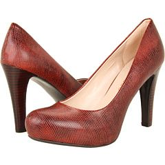 Franco Sarto Cicero pump / $89 / variety of colors (this and BLUE are fab) / recommended by flight attendants via NYT