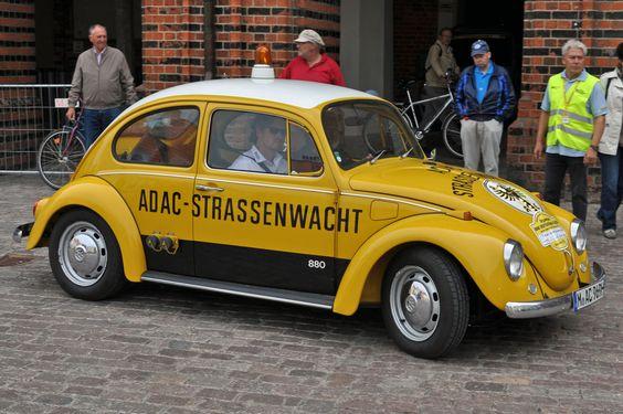 VW Käfer ADAC Strassenwacht