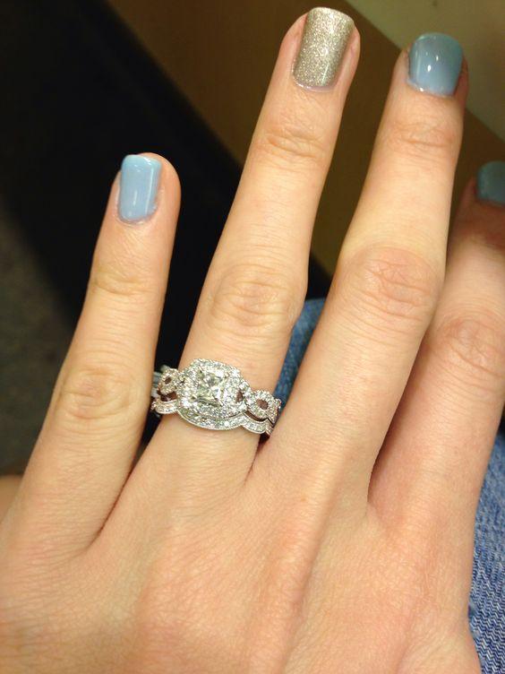 My bridal set Neil Lane Diamond at Kay Jewelers Rings I love