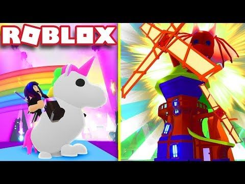 Adopt Me Youtube Roblox Unicorn Rooms Adoption