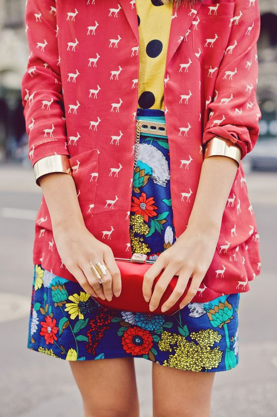 .: Mix Match, Mixing Patterns, Blazer, Fashion Style, Mixed Patterns, Mixed Prints, Mixing Prints
