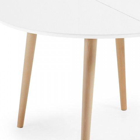 Runder Tisch Ausziehbar Aus Holz In Modernem Design Upama 桌椅