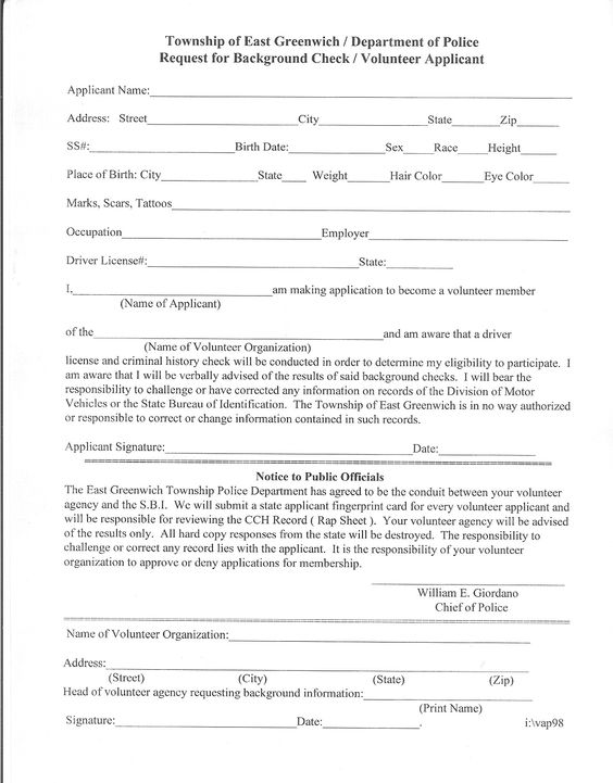 volunteer police clearance request letter hdvolunteer police clearance request letter