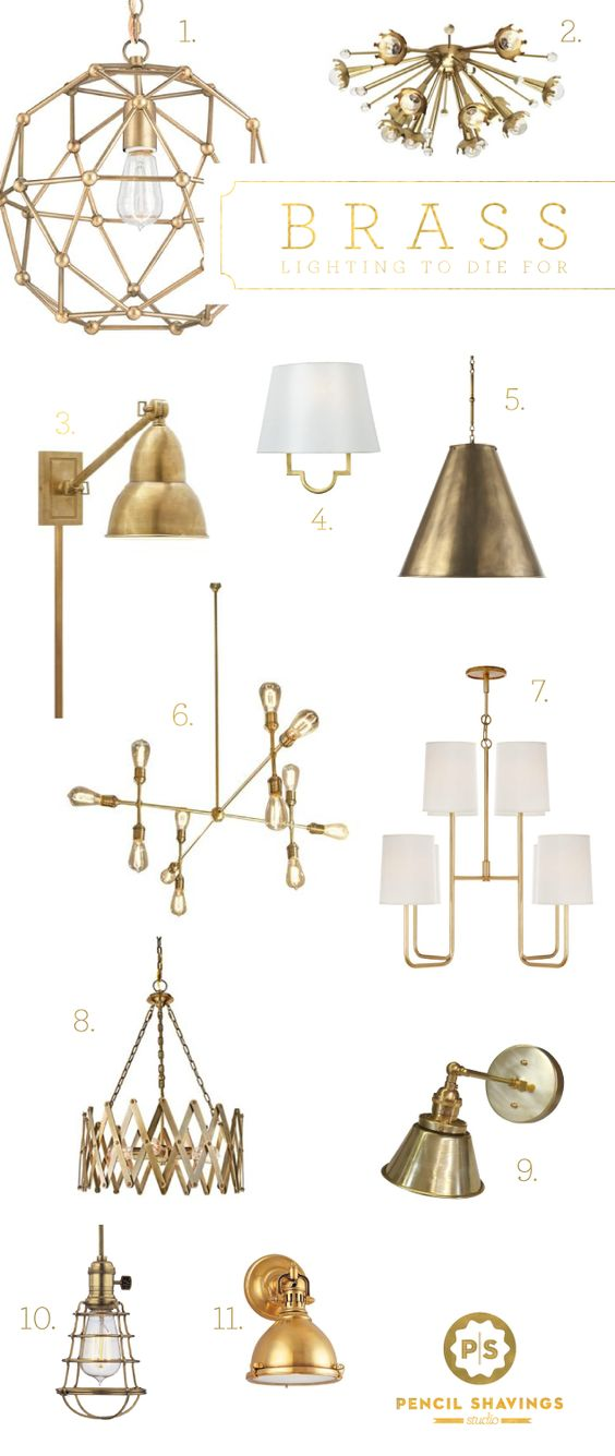 Best Brass Wall Sconces : The guest, Guest bed and Side tables on Pinterest