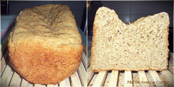 Pão de Aveia e Canela