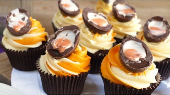 These gorgeous Creme Egg cupcakes taste just as good as they look - if not better!