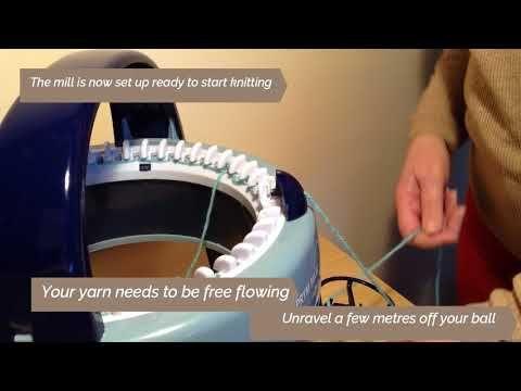 Prym Knitting Mill Part 1 Youtube Knitting How To Start Knitting Machine Knitting