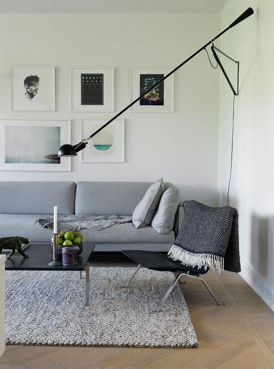 265 Lamp Wall Ceiling Flos In 2020 Living Room Scandinavian Modern Furniture Living Room Living Room Inspiration