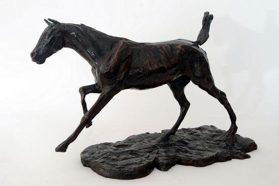 Degas horse sculpture