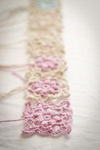 crochet chart for flower motif