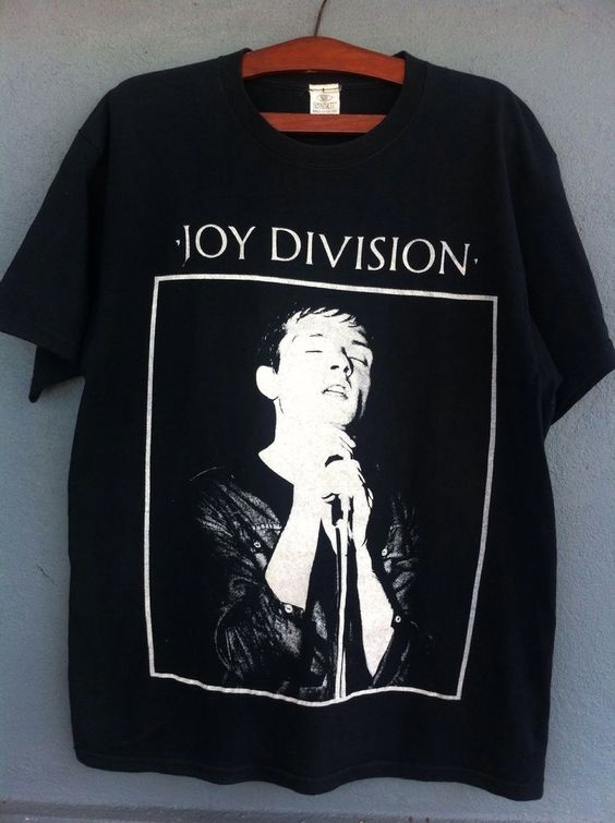 vintage 90s joy division t shirt tag schwartz made in usa. Black Bedroom Furniture Sets. Home Design Ideas