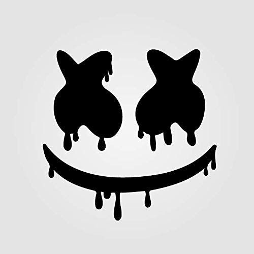 Amazon Com Marshmello Drips Vinyl Sticker Sizes 4 6 8 10