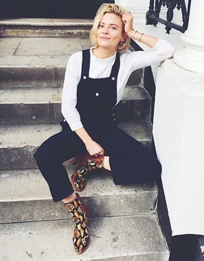 Three ways to upgrade your dungarees for now: