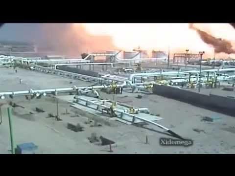 1ª Explosão Porto de Santos - SP - Câmeras de Segurança.