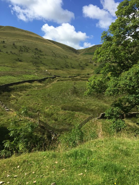 Edale, camping, landscape, Peak District
