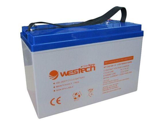 Westech gel battery 12V 75AH WT-Gel SG75-12 Westech WT-Gel SG75-12 (12V 75AH) [Westech WT-SG75-12] - 169.00EUR - Mare-Solar - Solartechnik-Onlineshop