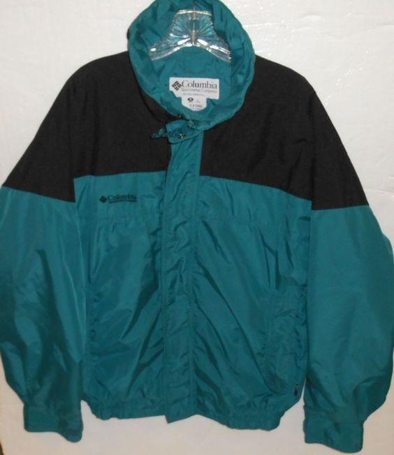Columbia Sportswear Bugaboo Full Zip Men's Size Medium Jacket #Columbia…