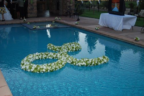 he asked. i said yes.: pools are meant for swimming...or maybe not