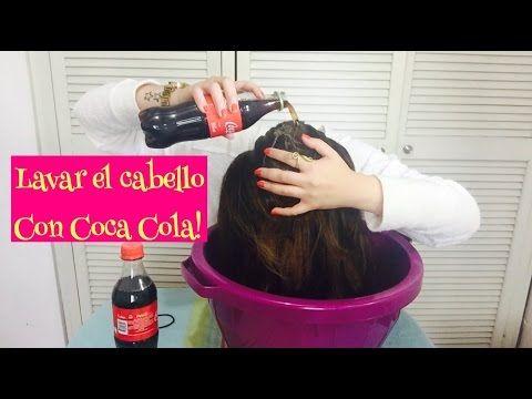 Esto es lo que le paso por lavar su cabello con Coca Cola! | Belleza