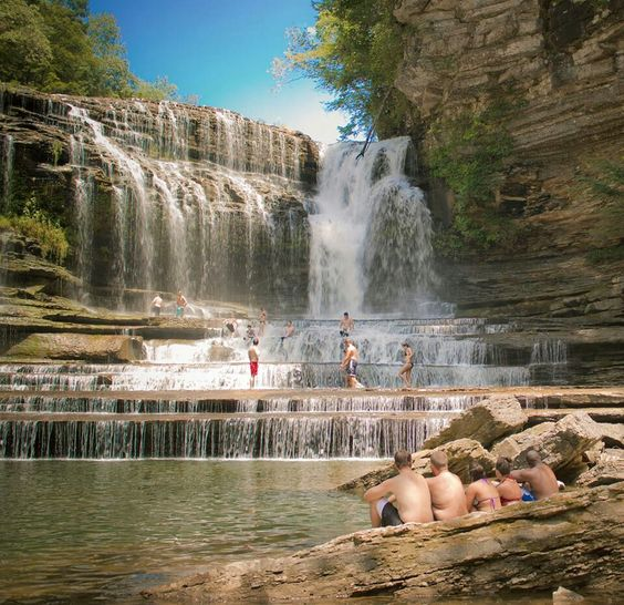 Best Places To Visit In Usa During Summer: Cummins Falls, TN. Sooooo Beautiful!! And Possibly