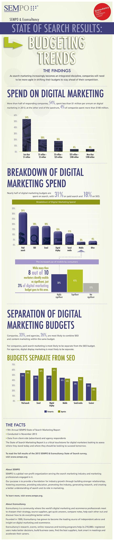 Digital Marketing Budgeting Infographic
