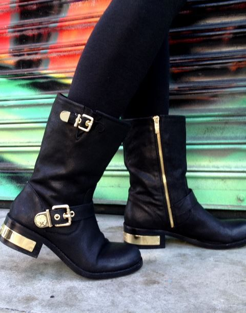 Love these Vince Camuto Wex Moto Booties, found them on Trendslove