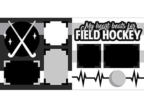 My Heart Beats For Field Hockey Scrapbook Page Kit Scrapbook Concierge In 2020 Scrapbook Pages Scrapbook In A Heartbeat