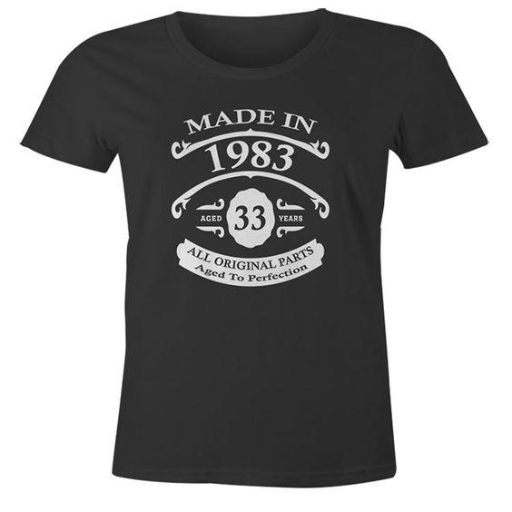 33rd Birthday T-Shirt